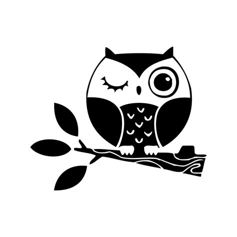 Stiker Evos Small Size aliexpress buy small size owl stickers vinyl owl on branch decals for laptop car