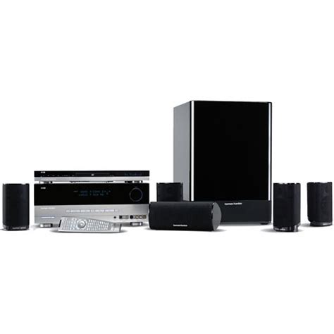harman kardon cp 55 home theater system cp55 b h photo