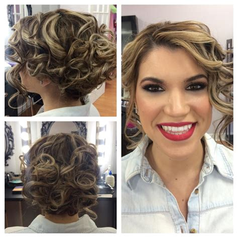 Wedding Bridesmaid Hairstyles by Gallery Starlit Designs Makeup And Hair Studio Miami