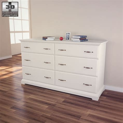 ikea birkeland kommode ikea birkeland chest of 6 drawers 3d model humster3d