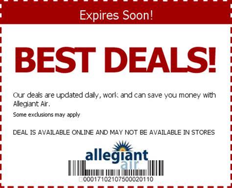 Promo Air allegiant air promo codes save w 2015 coupons discounts