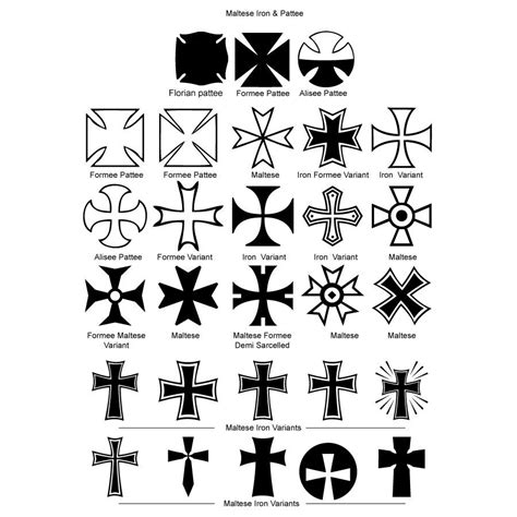 maltese tattoo designs maltese cross iron crosses pictures pics images and
