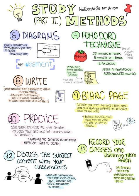 best study techniques 25 best ideas about study techniques on