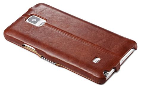 Leather Jete Samsung Note 4 icarer samsung galaxy note 4 side open vintage series leather wallet stand cover
