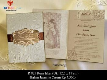 Wedding Invitation Bandung by Wedding Invitation Indonesia Buy Unique Wedding
