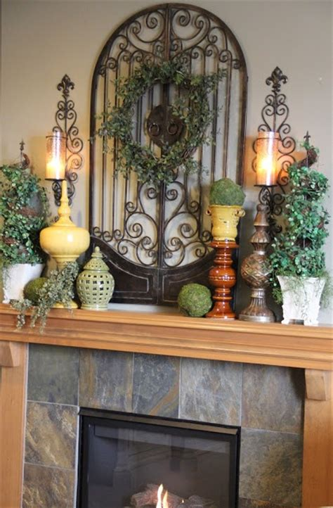 kitchen mantel decorating ideas 17 best images about tuscan on pinterest tuscan art