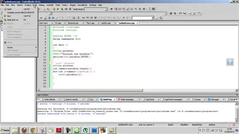 funciones de cadenas en lenguaje c cadena c pal 237 ndromo curso c inform 225 tica programaci 243 n