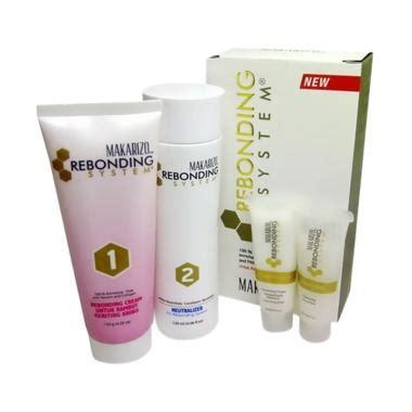 Harga Makarizo Obat Rebonding jual makarizo rebonding system obat pelurus rambut kribo