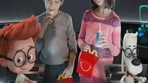 Mister Peabody And Sherman Set Happy Meal Mc Donalds Mcd Mekdi Murah mcdonald s happy meal tv commercial mr peabody sherman ispot tv