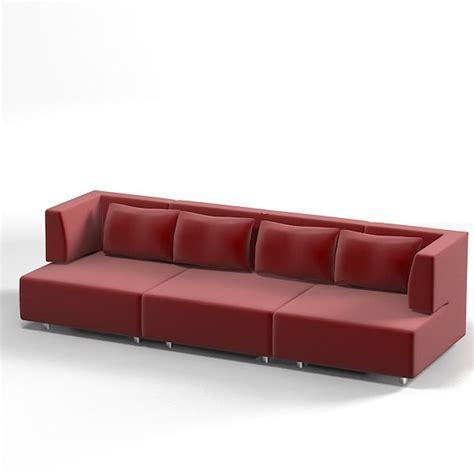 Edra Furniture by Edra Modern Sofa 3ds