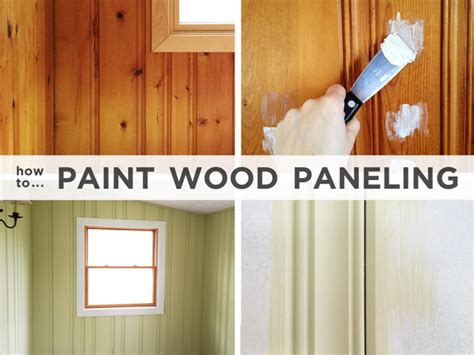Cool paint wood paneling 251016 home design ideas