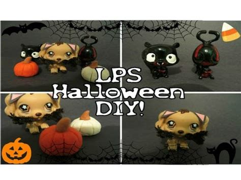 lps halloween diy demon  vampire custom pumpkins