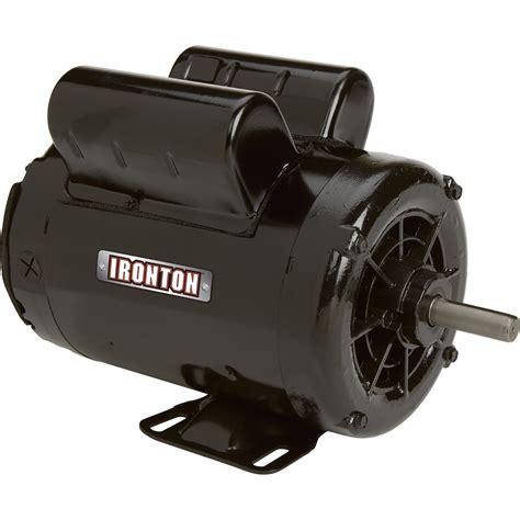 Electric Compressor Motor by Ironton Compressor Duty Electric Motor 2 Hp Model