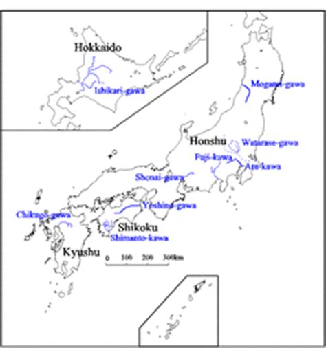in japan there are 3 bodies of water japan s geography