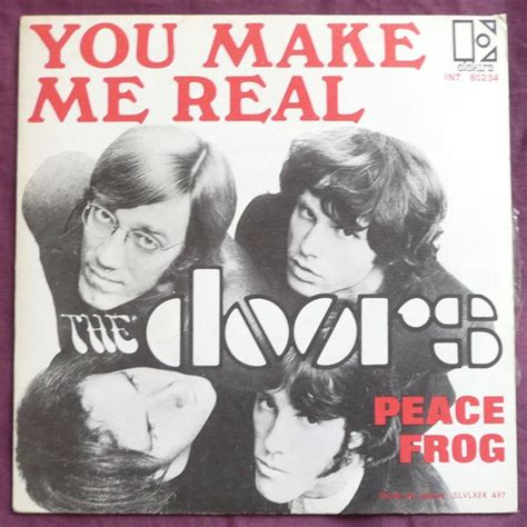 peace frog you make me real by the doors sp with