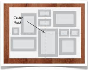 templates for hanging pictures on a wall studio