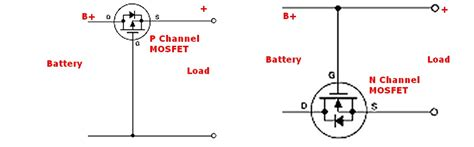 transistor fet polarisation polarity protection idea electrical engineering stack exchange