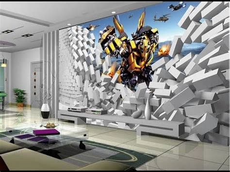 wallpaper 3d in wall 20 most stunning 3d wallpaper for walls decorating youtube
