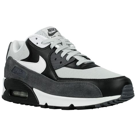 nike air max  essential   white black grey