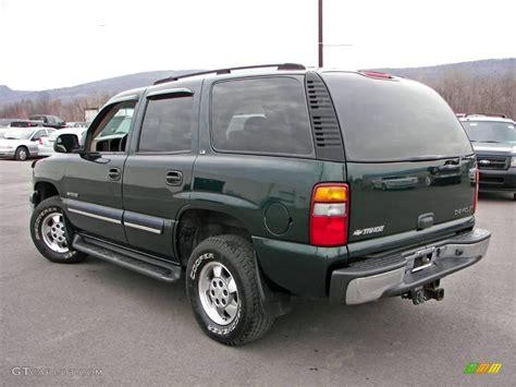 2001 chevrolet tahoe ls 2001 forest green metallic chevrolet tahoe ls 4x4 5389339