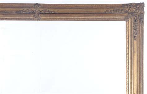 cornici grandi coppia di grandi cornici in legno xix secolo