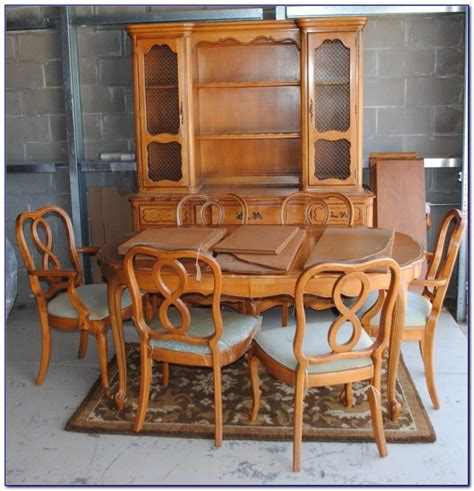 provincial dining table chairs dining room