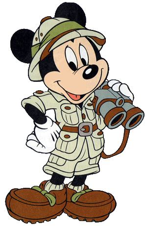 safari binoculars clipart safari mickey clipart 45
