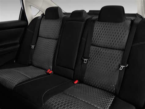 nissan altima interior backseat image 2016 nissan altima 4 door sedan i4 2 5 s rear seats