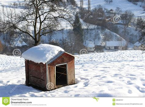 dog house for winter dog house royalty free stock photography image 28508797