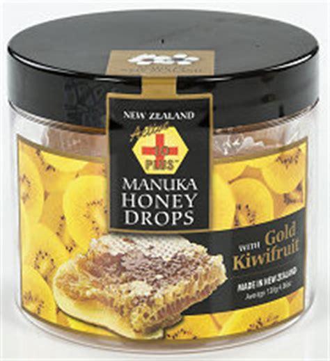 Streamland Gold Kiwi And Honey manuka honey drops new zealand alpine gourmet foods