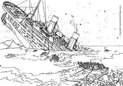 sinking ship activity the titanic themed activities for kids