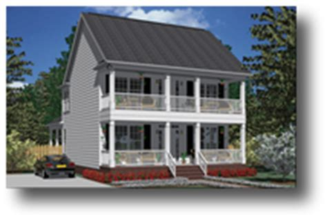 House Plans By Southern Heritage Home Designs Two Story 2 Story Southern Home Plans