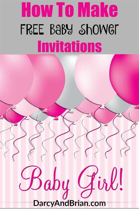 How To Design Baby Shower Invitations by How To Create Free Baby Shower Invitations