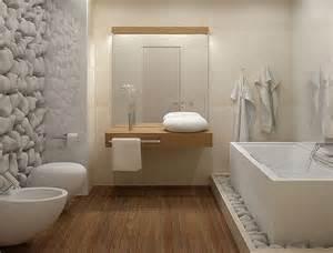 salle de bains zen et chaleureuse