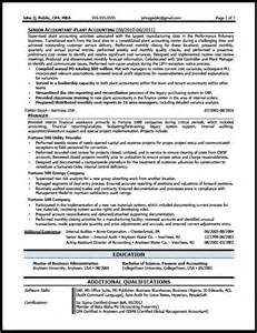 corporate accountant resume sle the resume clinic
