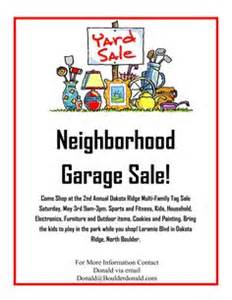 this yard sale flyer template and other free