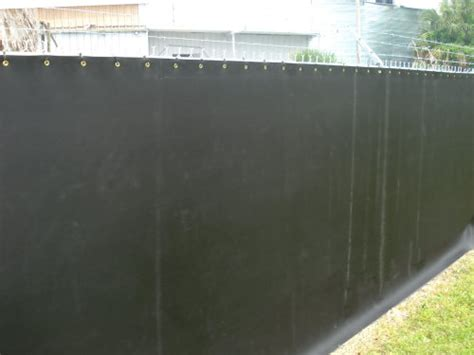 Backyard Noise Reduction Fencing Ideas Fence Fabric Fence Covers Outdoor
