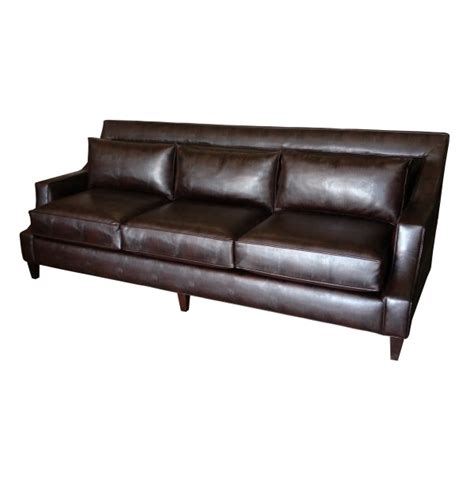 low arm sofa cutaway arm panel sofa with low back cushionstest
