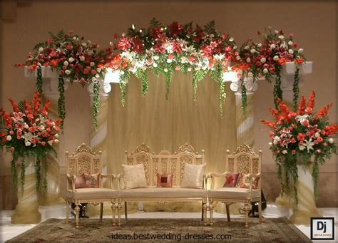 Home Trends And Design Buffet amazing mehndi stage decoration