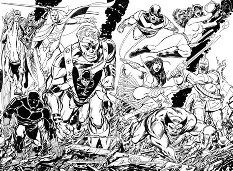 avengers by john byrne the avengers by john byrne marvel black white