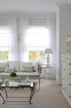 25 best ideas about white sheer curtains on