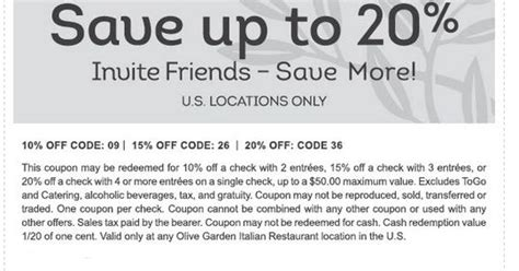olive garden printable coupons july 2017 printable coupons promo codes 2017