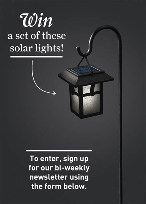 This Is Lit Giveaway by Portfolio Solar Path Light Giveaway House