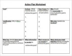 Plan Worksheet Template by Sle Plan Template 12 Free Documents In Pdf