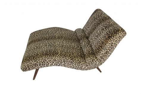 animal print chaise leopard chaise lounge animal print adrian pearsall style