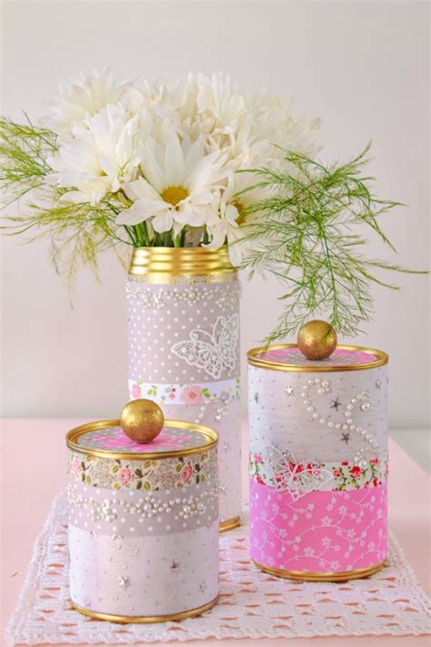 awesome diy projects   recycled tin cans