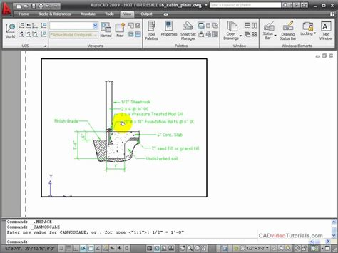autocad layout viewport layers autocad tutorial creating a new viewport youtube