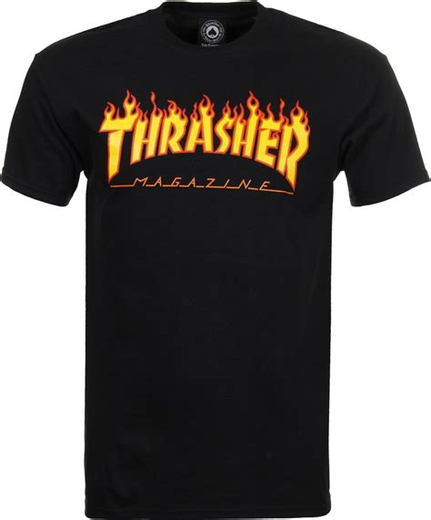 Kaos Tshirt Thrasher X Dickies Black thrasher logo t shirt black thrasher hoodie
