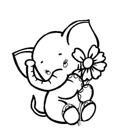 ellie elephant coloring page 1000 ideas about baby elephant tattoo on pinterest