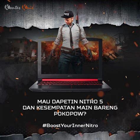 Voucher Steam Rp60 000 kontes boost your inner nitro berhadiah laptop nitro 5